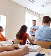A teacher who teaches