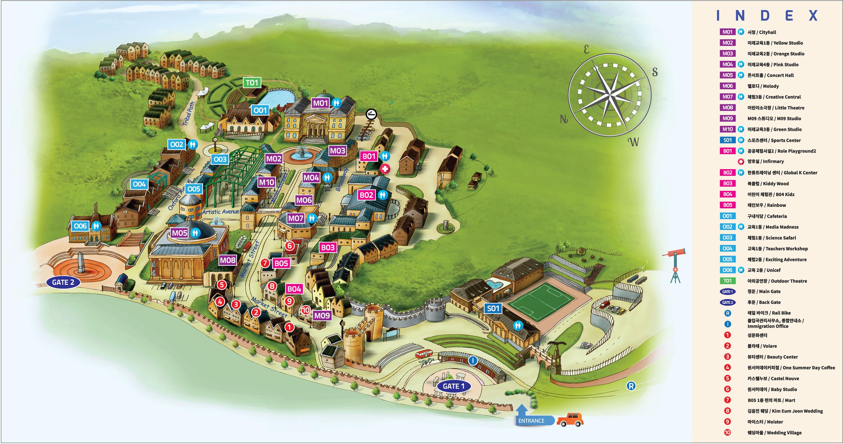 체인지업캠퍼스 지도 이미지