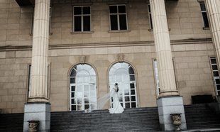 경기미래교육캠퍼스 시청앞 계단
